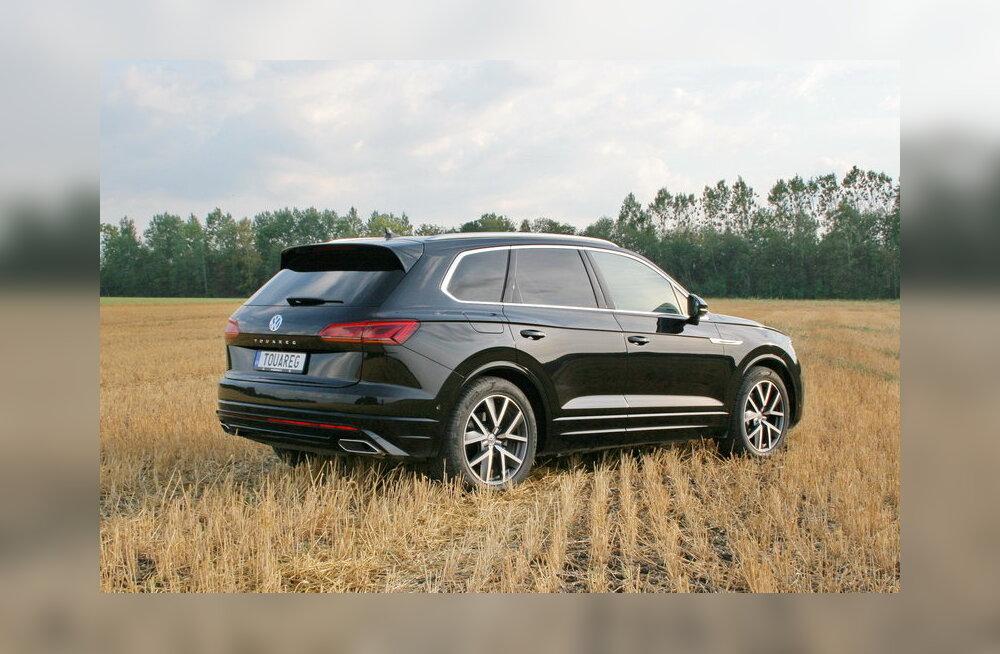 WHATCAR? PROOVISÕIT   Volkswagen Touareg: linnamaastur, mida saadab VW Phaetoni vari