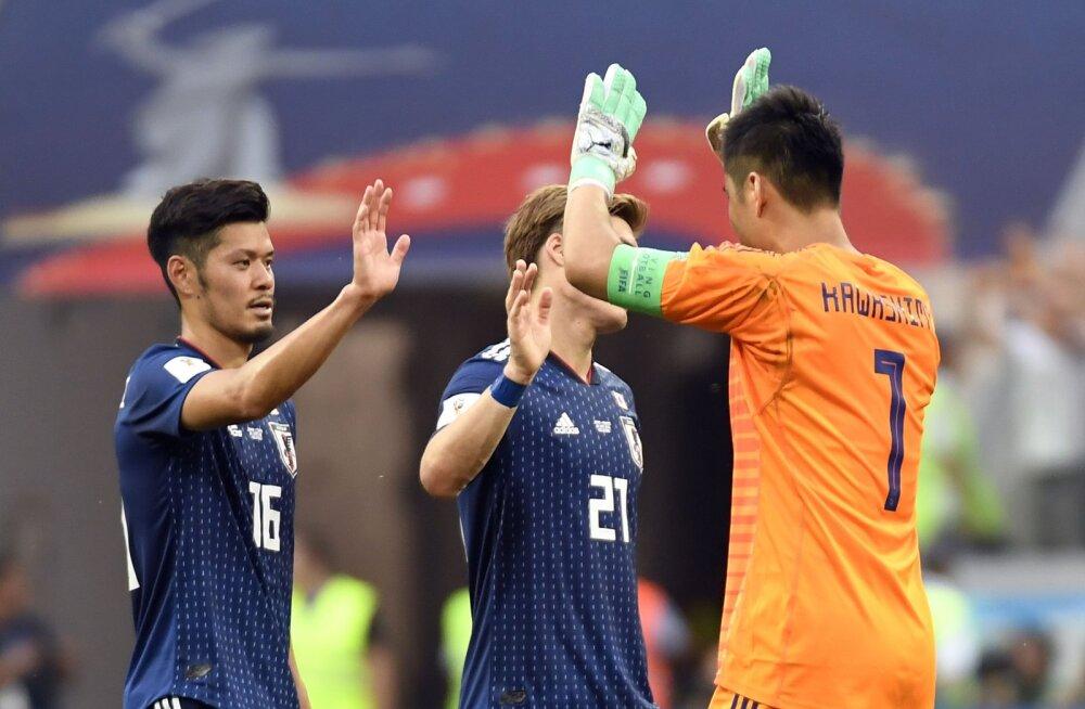 Jaapanlaste viisakus tõi neile play-off pileti