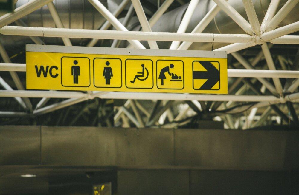 Kohutav läbielamine! Mandliallergiat põdev naine pidi terve lennureisi end tillukeses tualettruumis peitma