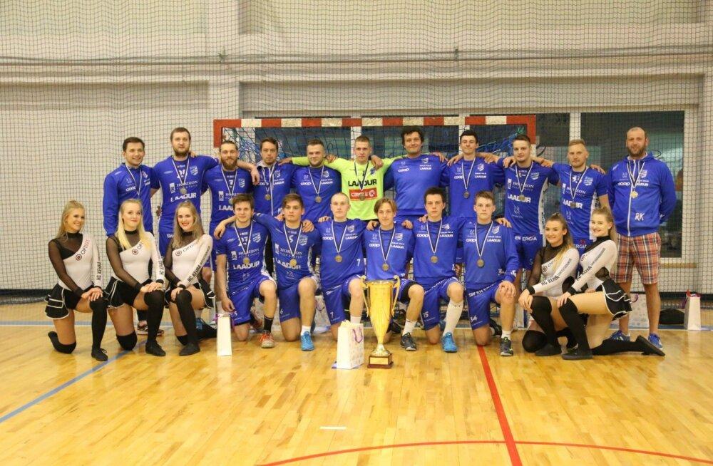 Eesti meistrivõistluste pronksmedalist HC Kehra/Horizon Pulp&Paper.