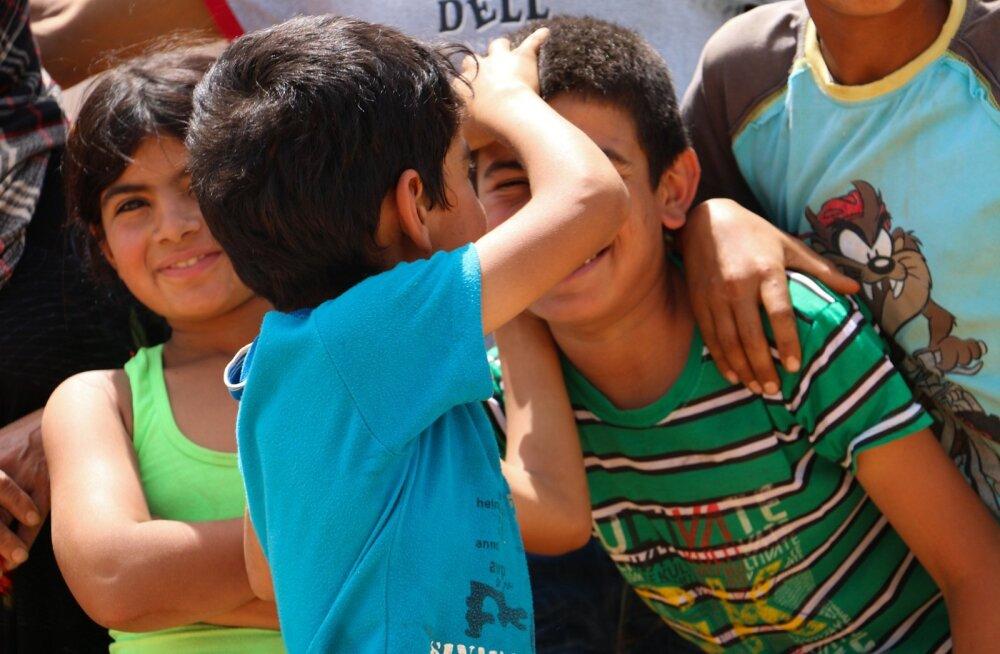 Põgenikalaager Bekaa orus Chmestaris ning Deir Al AHmeri lähistel