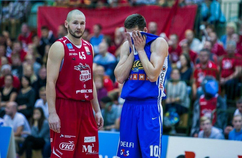 Kas Rapla ajab finaalis Kalev/Cramo nutma?
