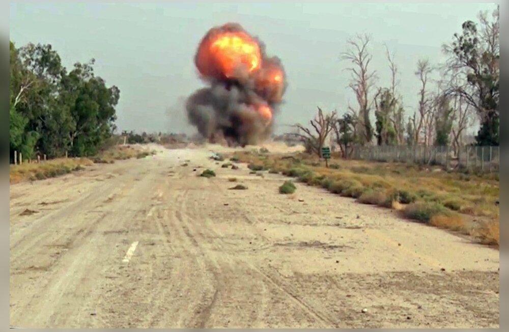 Vaatluskeskus: Süüria laskemoonalao plahvatsuses hukkus 15 Vene palgasõdurit