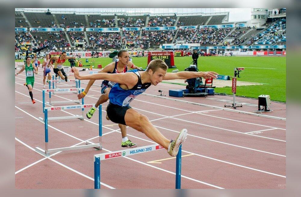 Rasmus Mägi jooksis Eesti rekordi, Tanel Laanmäe täitis MM-normi
