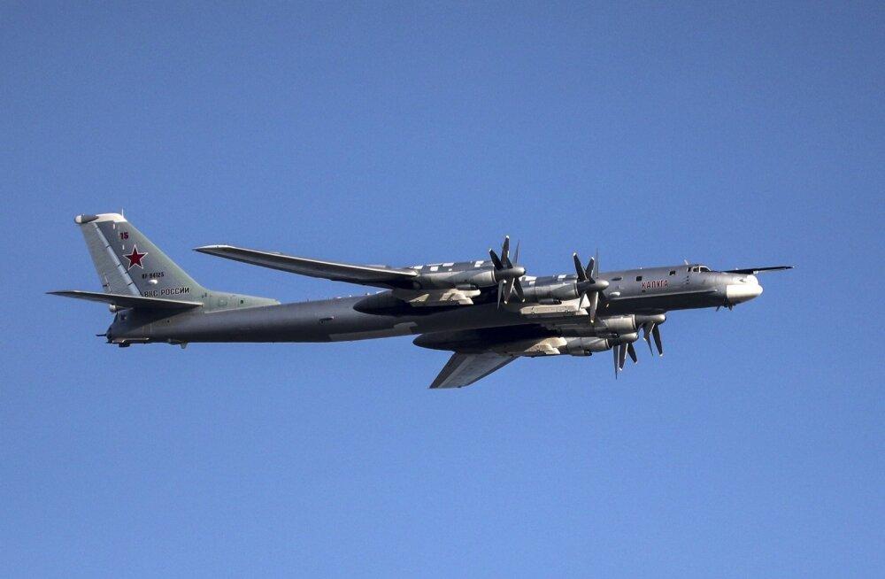 USA hävitajad eskortisid Alaskast läänes nelja Vene sõjalennukit