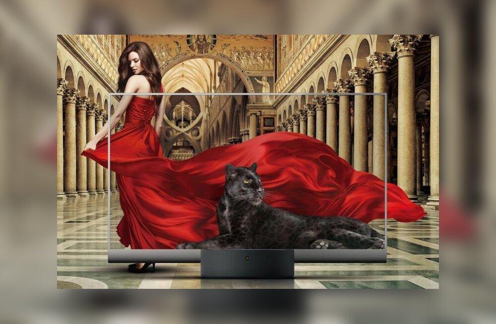 Nii ilus: Xiaomi tootis läbipaistva teleri