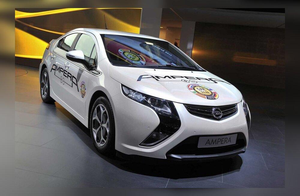Opel Ampera: elektriauto sõiduulatusega üle 500 km