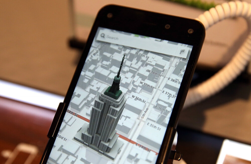 Kuu põnevaim telefoniuudis: Amazon arendab uut nutitelefoni