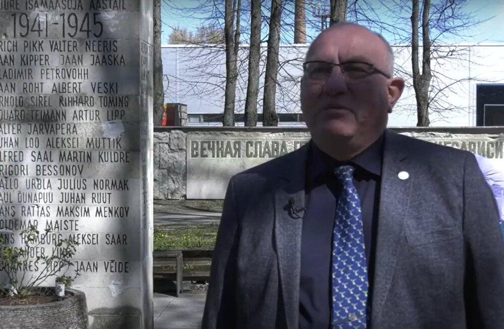 ВИДЕО | Старейшина Пыхья-Таллинна и ветераны почтили память погибших в войну работников ТМТ