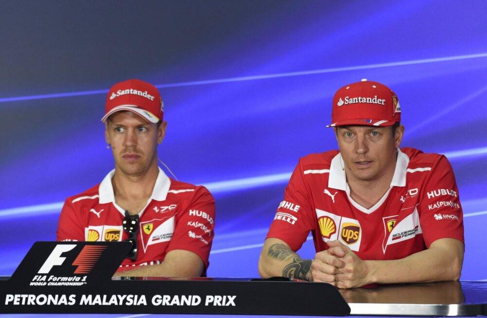 Ferrari vormelitiim kaotas kauaaegse suursponsori