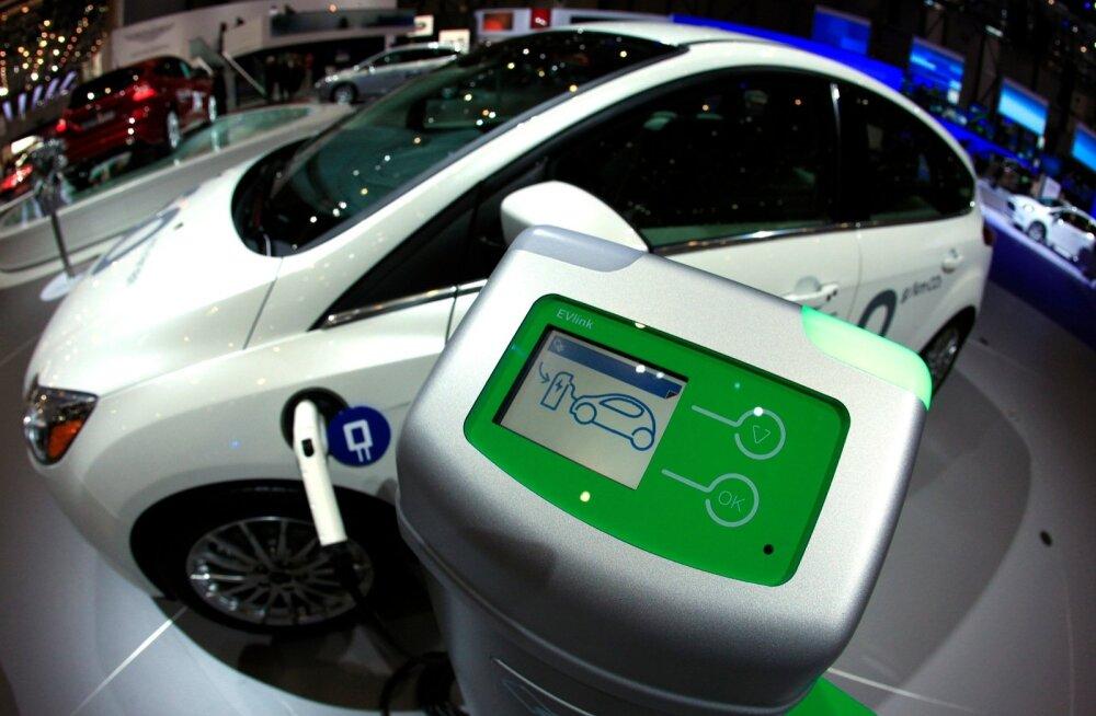 Elektriline Ford Focus.