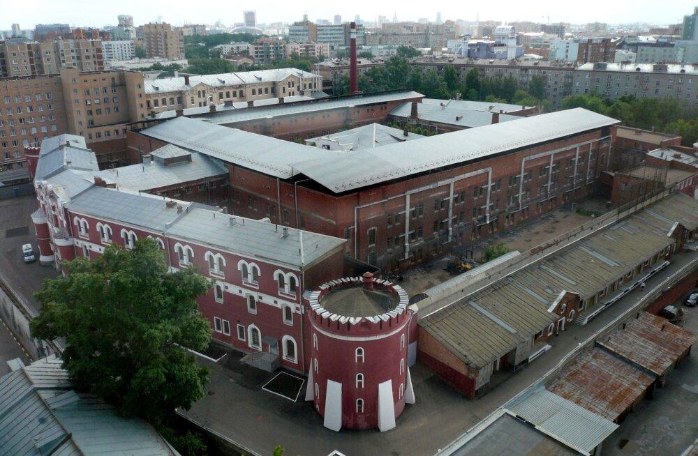 Butõrka - arhitektuurimälestis, kunagi vahepeatus teel Gulagi, täna rahvast täis litsutud türm