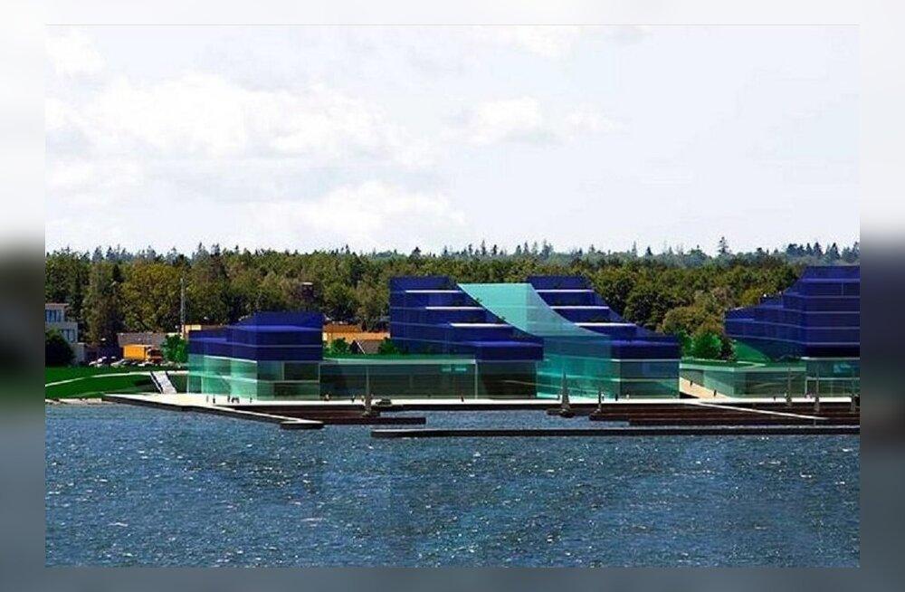 ФОТО: В Какумяэ все-таки будет построен бизнес-центр — местные жители проиграли суд