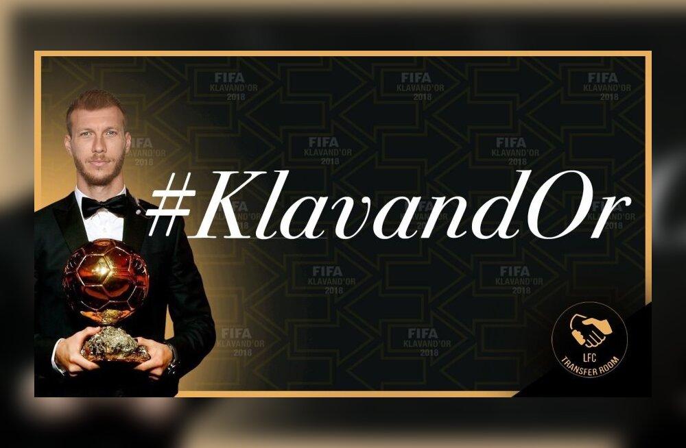 Ragnar Klavan pälvis kummalise aunimetuse