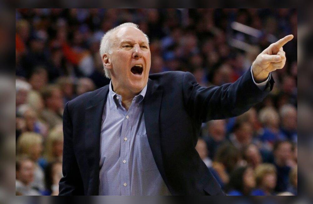 4-kordne NBA meister Gregg Popovich