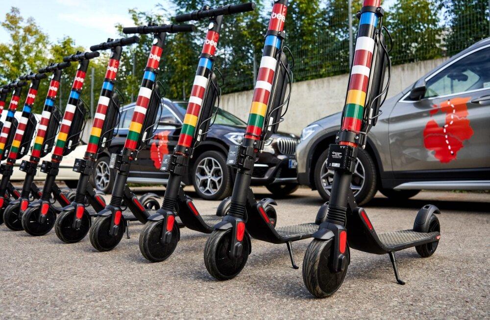Citybee tõukerattad läksid Tallinna tänavatelt talvepuhkusele