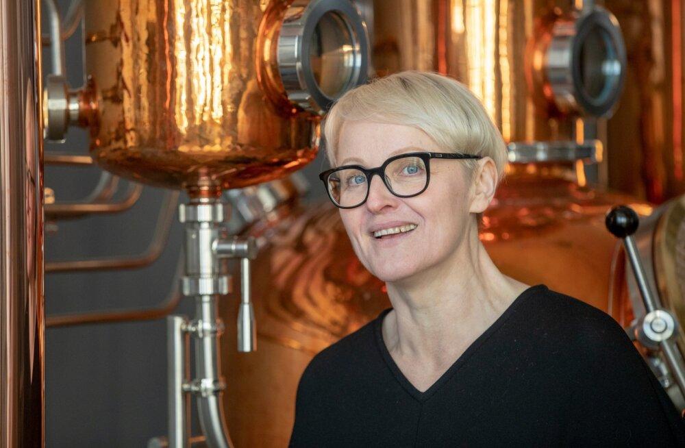 Lahhentagge tegevjuht ja džinnimeister Maarit Pöör rõõmustab eduka raha kaasamise kampaania üle.