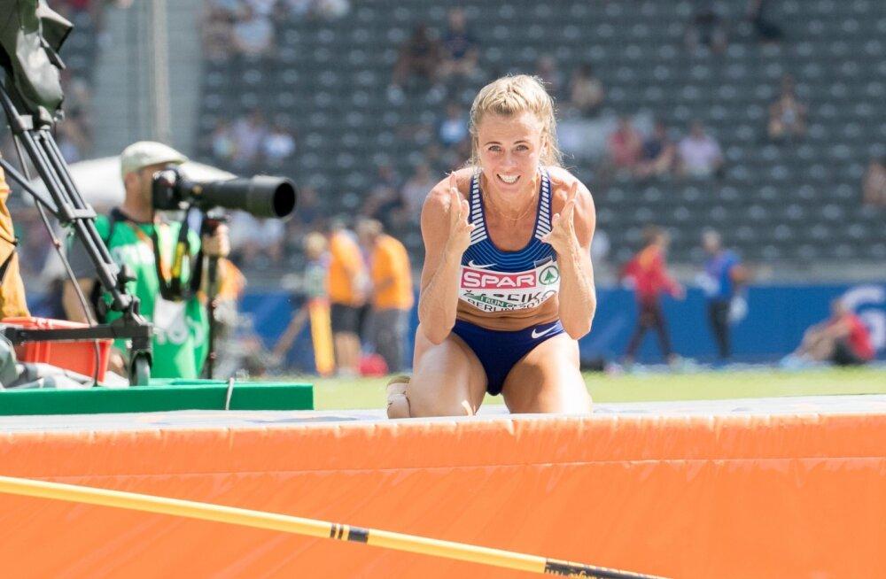 Grit Šadeiko viimane suurvõistluste start oli 2018. aasta Berliini EM-il.