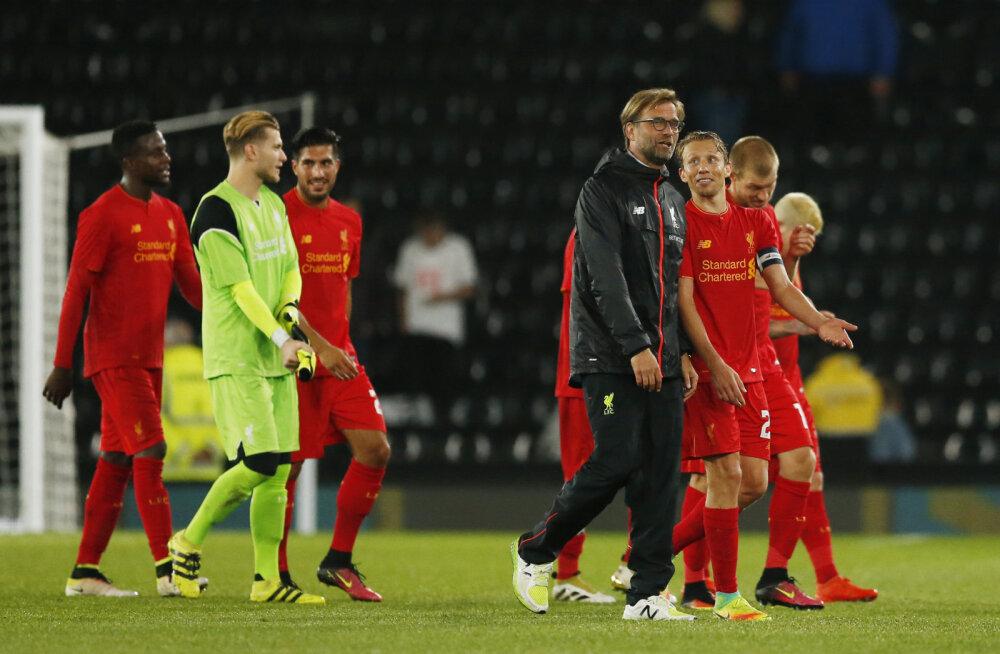 Jürgen Klopp: oleksime saanud palju paremini mängida