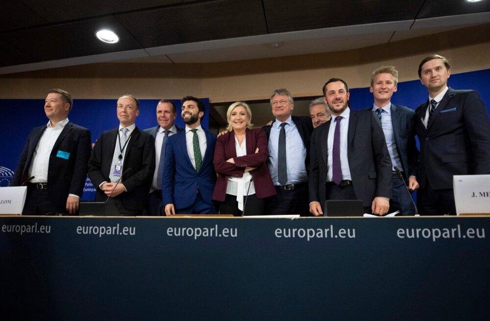 Euroopa Parlamendi paremäärmuslaste fraktsioon Identiteet ja Demokraatia