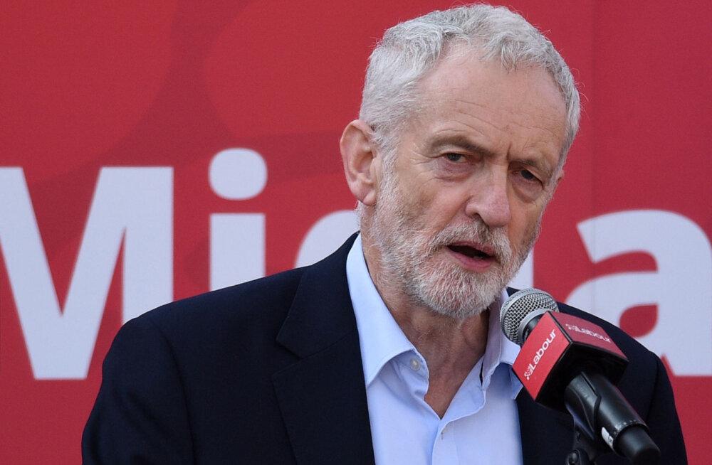 Leiboristid teatasid, et toetavad Brexiti puhul uut rahvahääletust
