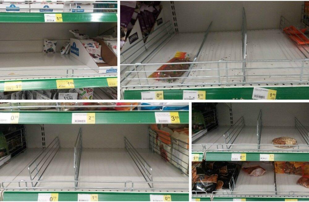 Возмущенные покупатели: почему полки в Prisma постоянно пустые?