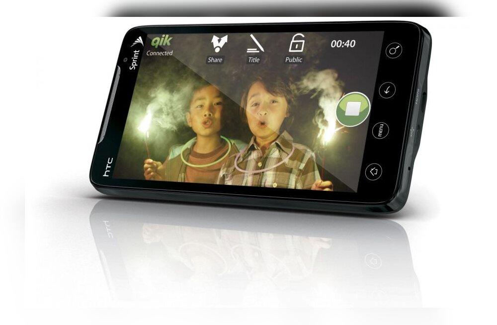 HTC Evo 4G, hetke ihaldatumaid 4G-telefone