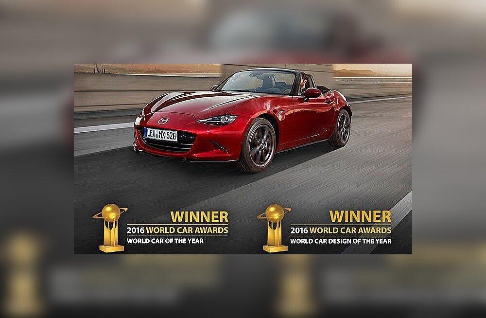 Maailma parimad autod: Toyota Mirai, Audi R8 Coupé, BMW 7. seeria ja kõige tipuks Mazda MX-5
