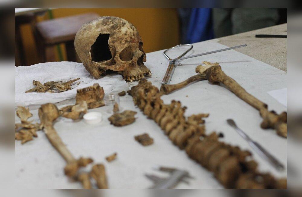 Leiti Iidse Peruu hauakamber: kuningannadega koos on maetud 60 naist