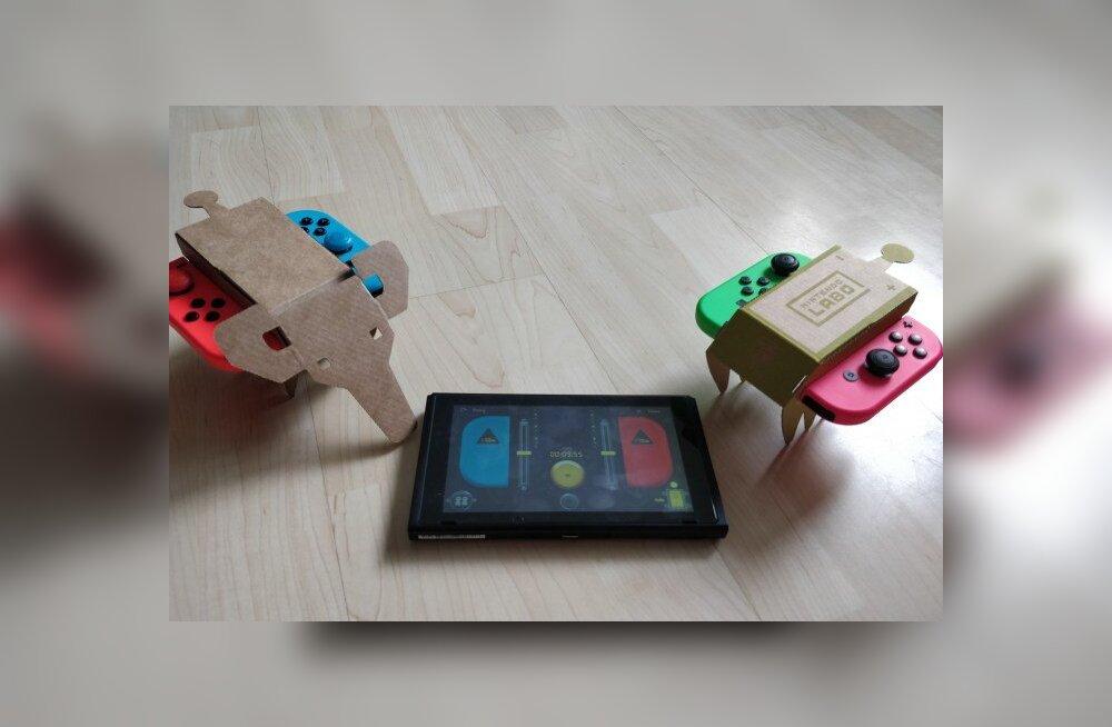 M Kuubis vaatleb videomängu | Nintendo Labo Variety Kit (Switch): palju me pappi saame?