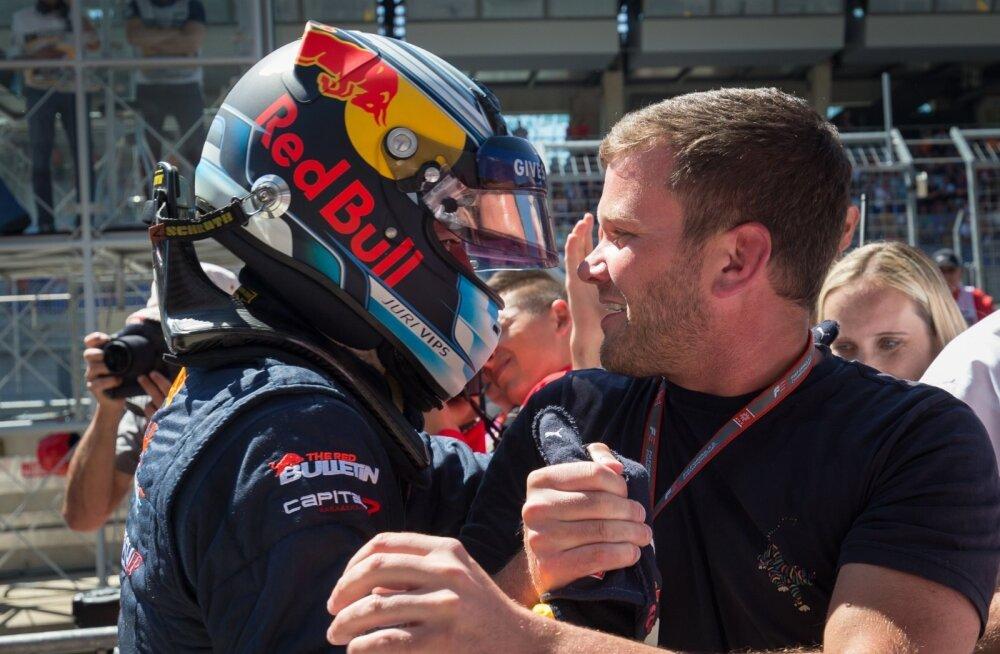 Jüri Vips Austria GP-l