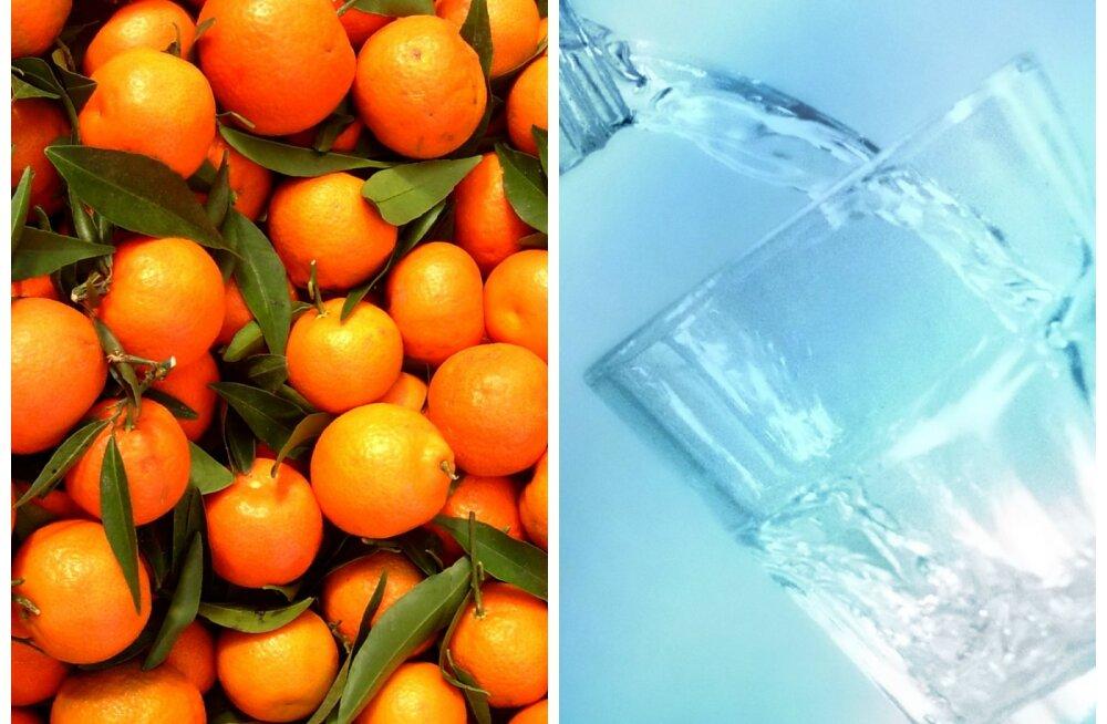 Vitamiinispikker särava naha heaks: terve ja ilus välimus peidab end õiges söögis ja joogis