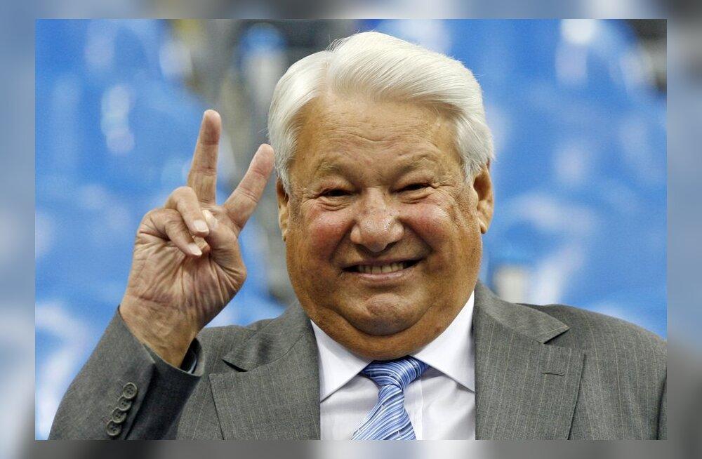 Homsest on Eesti ainuke Balti riik, kus pole Boriss Jeltsinile ordenit antud
