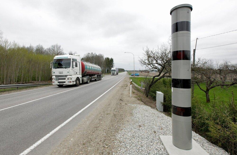 Kiiruskaamera Libatses Pärnu maanteel