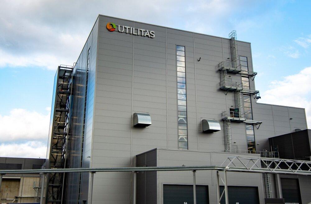 В Таллинне начала работу новая теплоэлектростанция на биотопливе