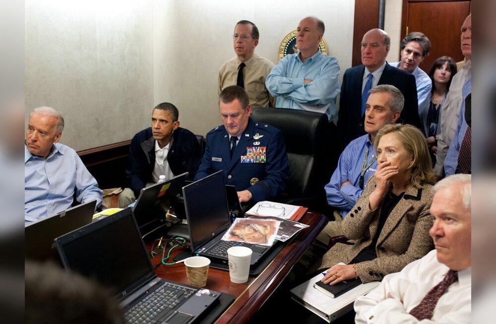 Obama jälgis Osama bin Ladeni tapmist otseülekandes