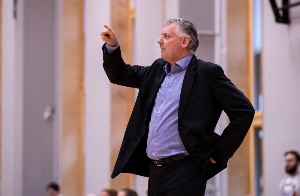 Gert Kullamäe töö Tallinna Kalevi peatreenerina sai ootamatru lõpu.