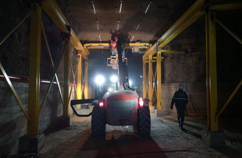 Шахта Estonia из-за вспышки коронавируса приостановила работу
