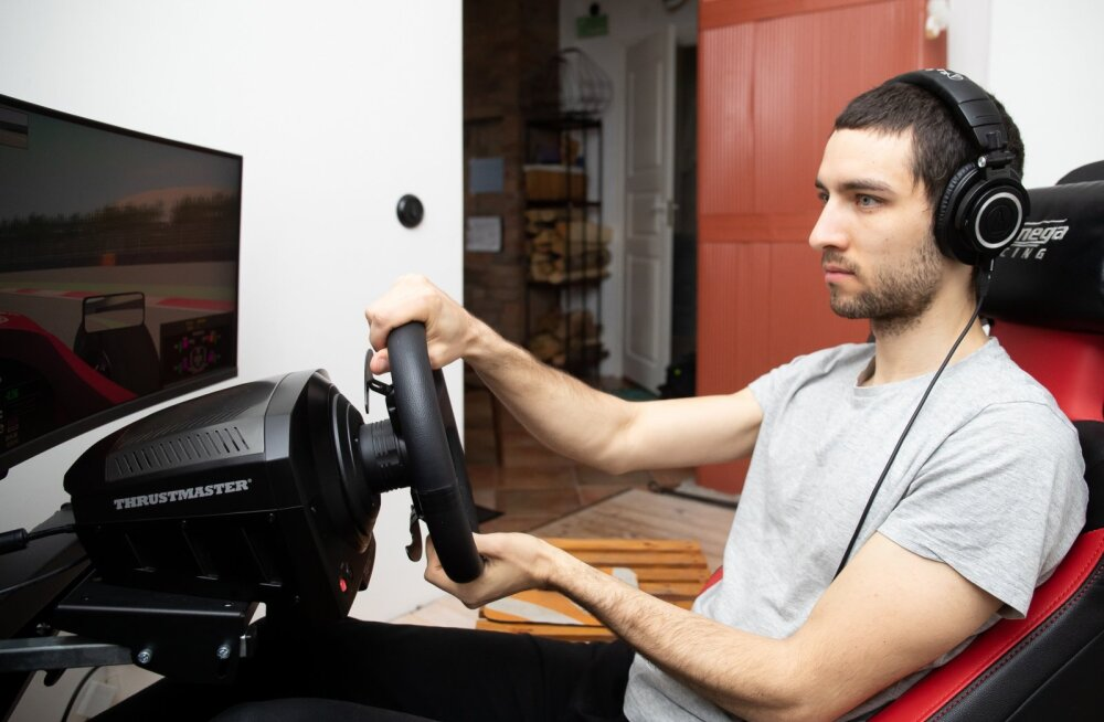 Risto Kappet osaleb nädalas kahel-kolmel virtuaalsel võidusõidul.