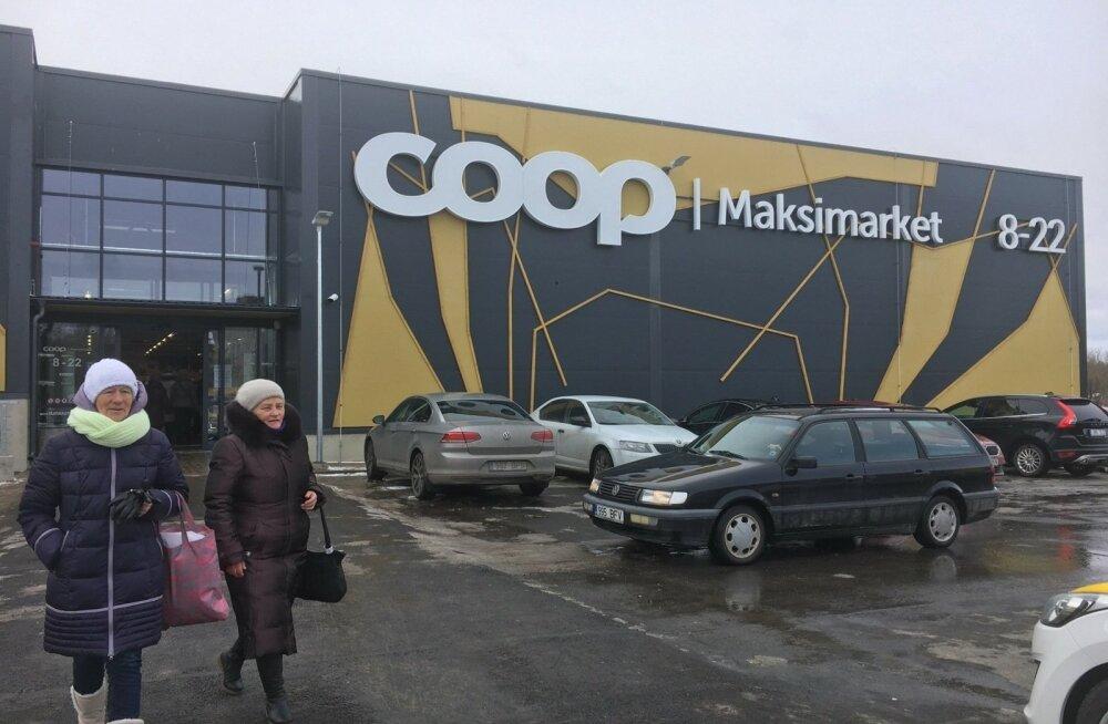 ФОТО: В Силламяэ открылся гипермаркет Coop