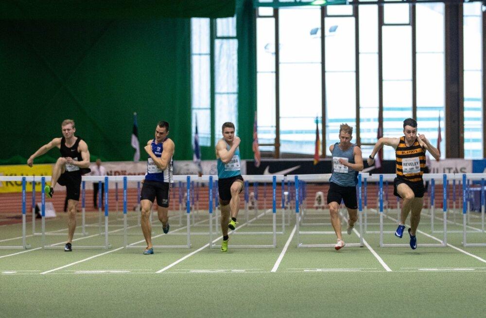 Rahvusvaheline mitmevõistlus Lasnamäe spordihallis