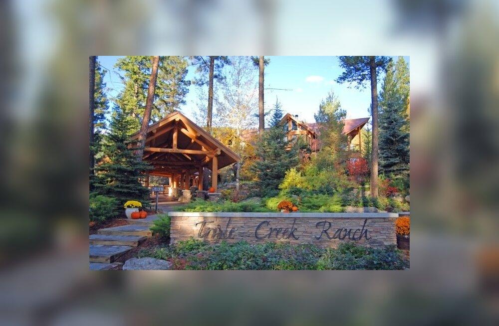 Maailma parim hotell Triple Creek Ranch