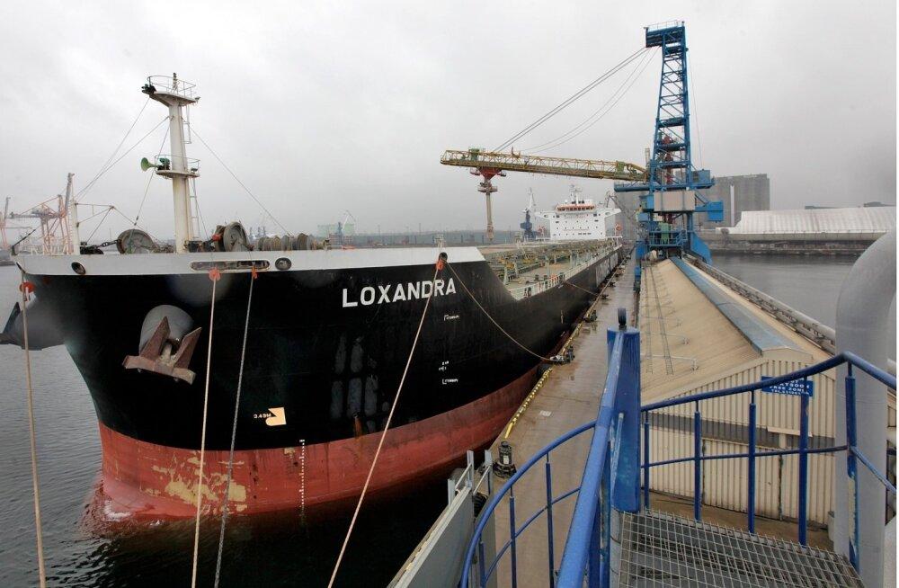 Tallinna Sadama kaubavedu vähenes aastaga ligi viiendiku võrra