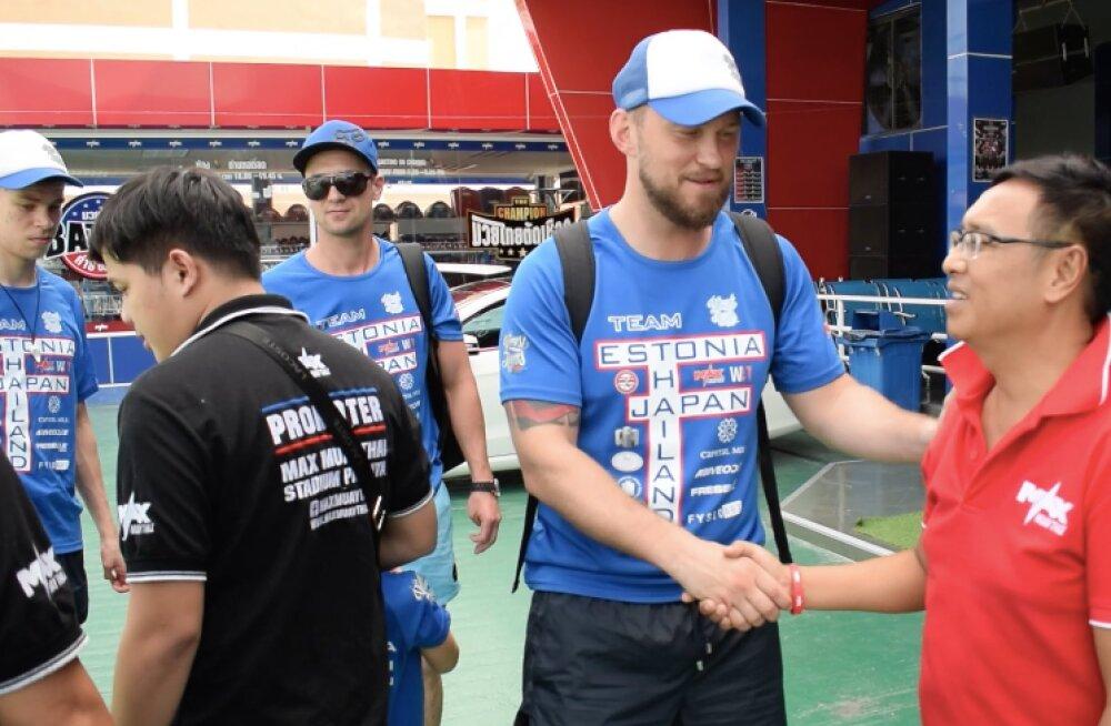 Eesti poksijad võistlevad Taimaa suurimas profi-võistlussarjas Max Muay Thai
