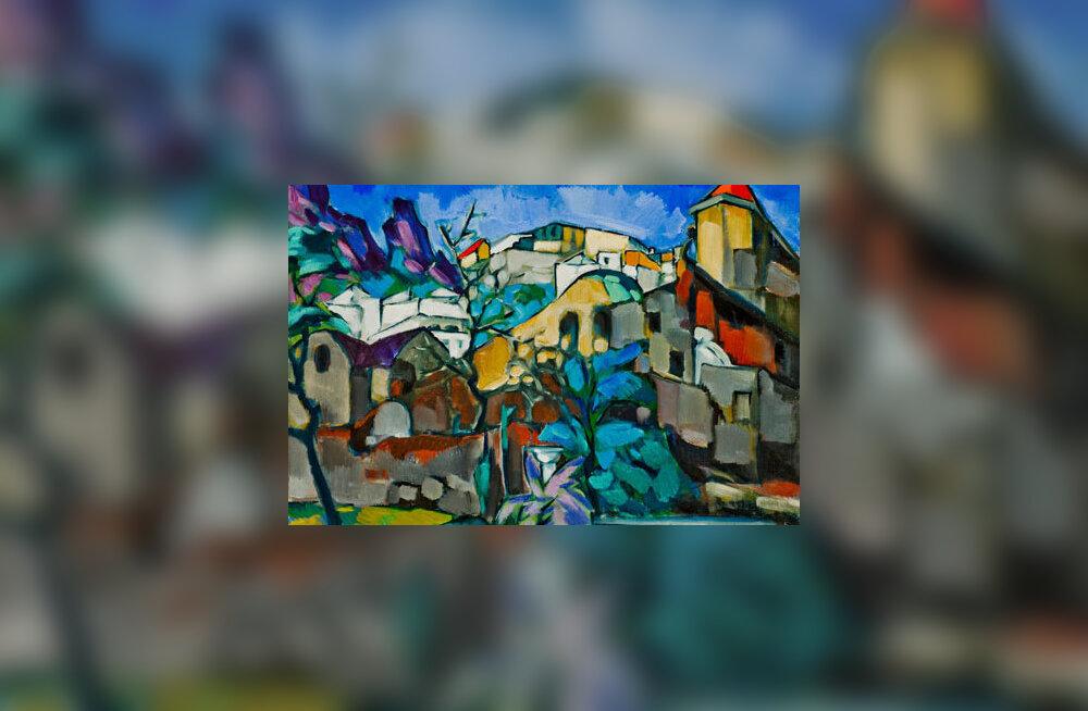 """Konrad Mägi teos """"Capri maastik"""" müüdi 127 823 euroga."""