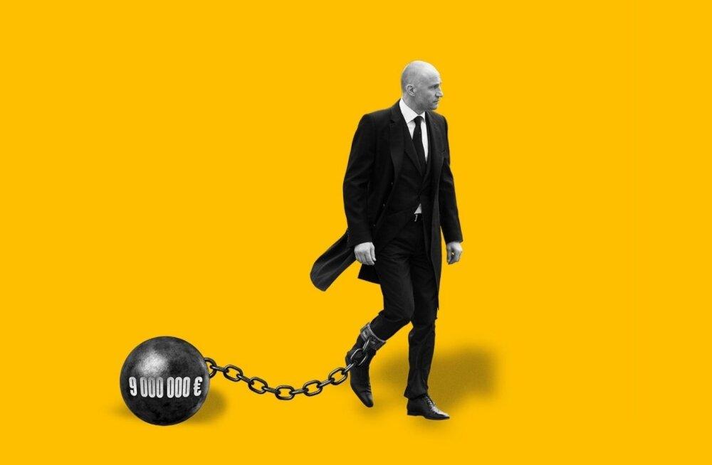 Скандально известный бизнесмен объявлен банкротом и взять с него нечего — гол как сокол