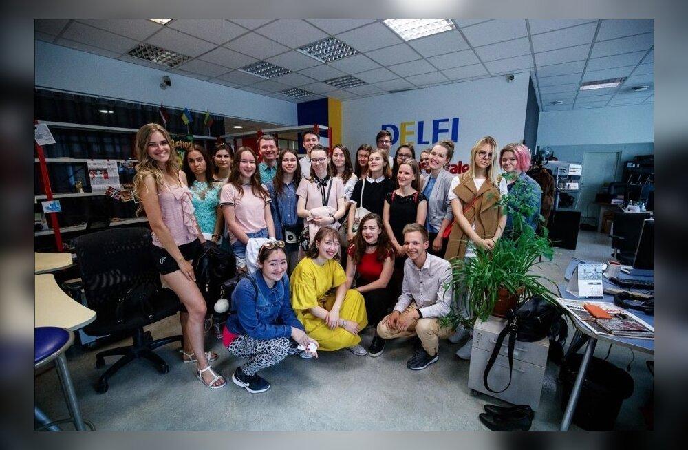 Мы ждем будущих журналистов и блогеров! Delfi и Стокгольмская школа экономики в Риге начинают набор в таллиннскую Летнюю школу журналистики