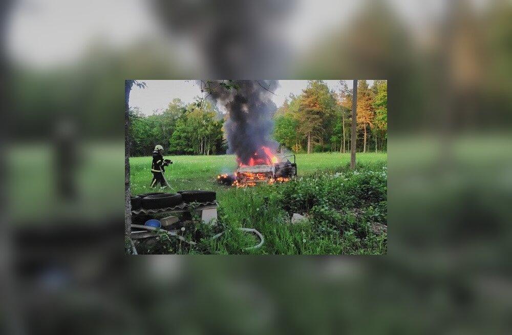 Lääne-Eestis oli nädalavahetusel hulgaliselt tulekahjusid