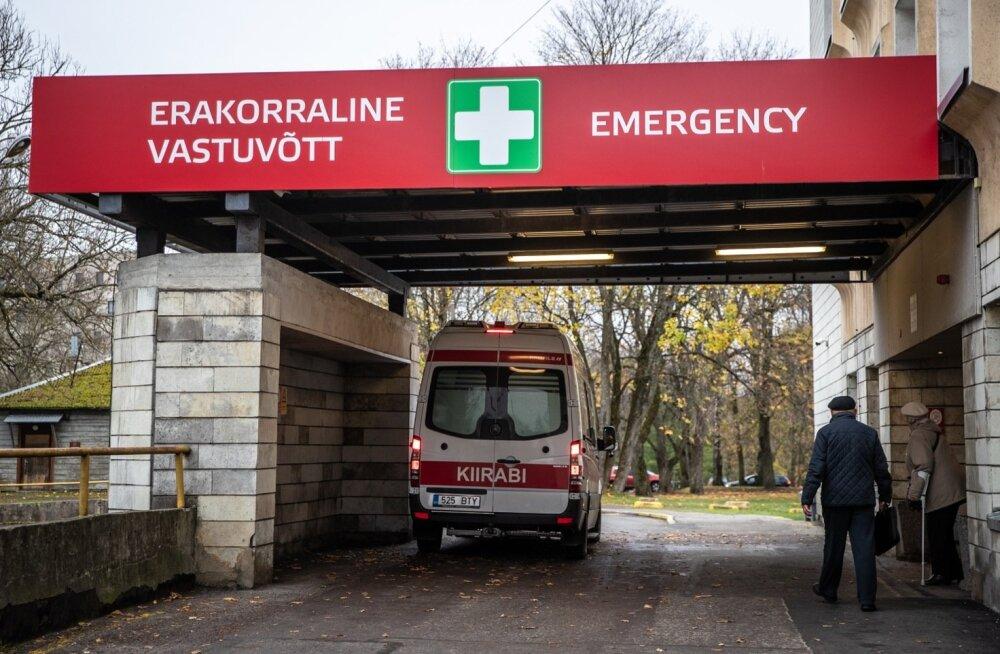 Vaid ligikaudu 5% EMOsse pöördumiste korral oln patsiendi seisund eluohtlik.
