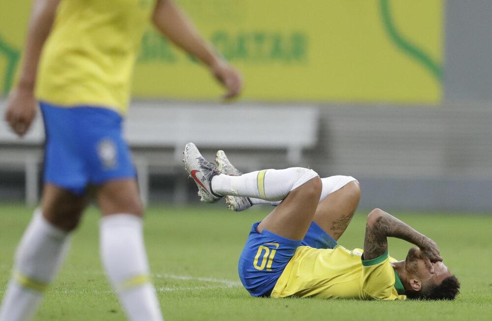 Selgus Neymari vigastuspausi pikkus